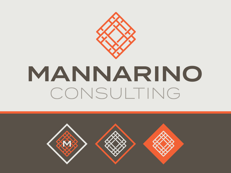 Mannarino Consulting Identity / Color Palette tennessee chattanooga logo color palette identity
