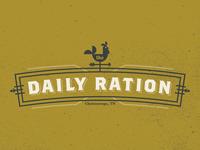 Daily Ration Logo
