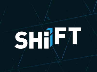 SHiFT Logo wordmark tennessee chattanooga logo identity