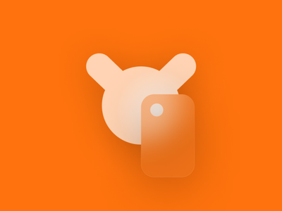 Redmi Logo Redesign concept icon illustration vector minimal branding bunny glassmorphic smartphone phone brand logo design logo redmi xiaomi