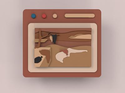 Die Beständigkeit der Erinnerung illustration culture design art 3d modeling 3d design