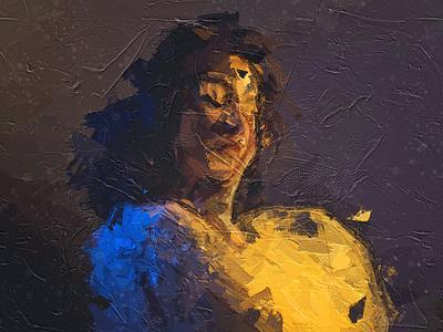 digital modern Painting of art emotion drawing illustration design digitalart paint art