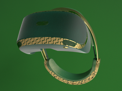 Green world Murad Studio minimal branding art illustration 3d modeling 3d design design