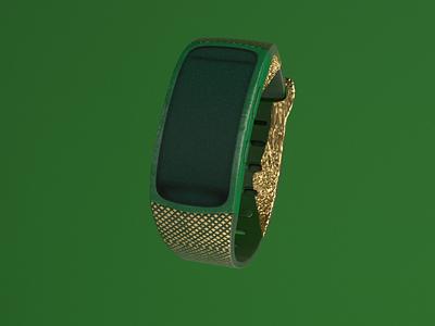 Green world Murad Studio digital art branding illustration art 3d modeling 3d design design