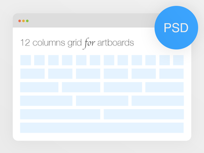 [PSD] Bootstrap 12 columns grid for artboards design ui download freebie artboards psd free bootstrap twitter grid source template