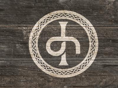 Desired Haven Logo icon cross celtic cross design logo vector