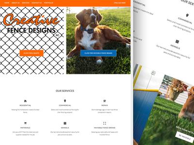 Creative Fence Site Design