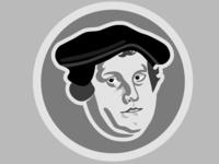 Martin Luther Illustration