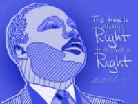 Dr King Illustration