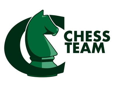Chess Team Logo knights team chess knight green logo branding illustration vector