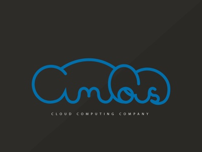cumulous   handwriting hand lettering cloud computing typography illustrator branding vector logo day15 day14 dailylogochallenge