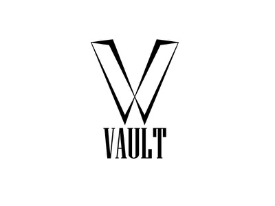 vault trendy logo illustrator dailylogo day28 brand clothing fashion vault branding logo dailylogochallenge