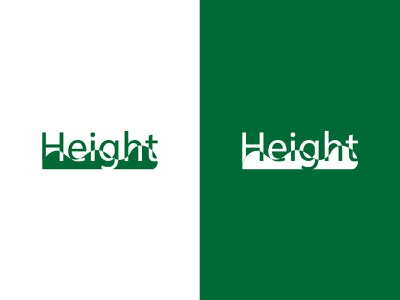 height sneakers brand shoes sneakers sportive sport identity branding dailylogochallenge