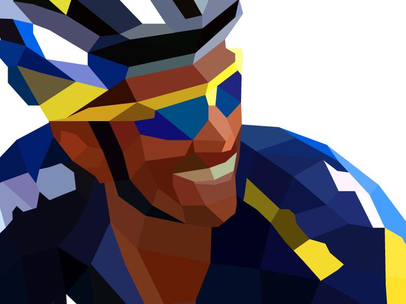 Contador cyclists