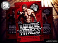 Gym Flyer Template PSD