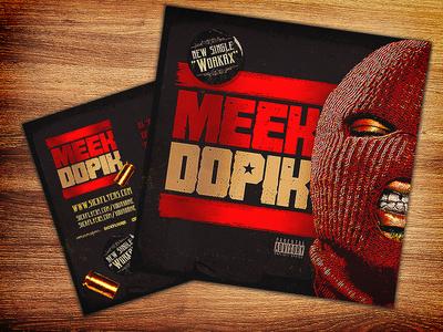 Mixtape Cover Template PSD