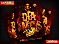 Dia De Los Muertos Flyer PSD