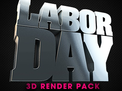 Labor Day 3d Renders 3d alpha america american american event american flag army celebrate celebration film greetings holidays industrykidz job jobs july labor day laborday military movie patriot patriotic usa png render september shine war work