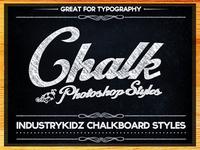Chalkboard Photoshop Layer Styles