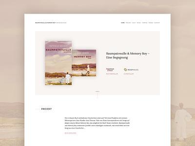 Website design writing minimal clean home webdesign design