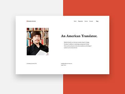 Website design white website webdesign portfolio clean