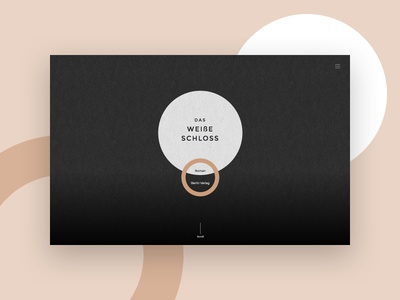 Landing page writing black clean onepager landing page website