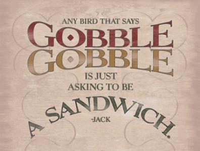 Jack In The Box Turkey POS marketing print ads print ad advertising
