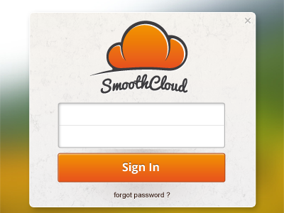 SmoothCloud Sign In