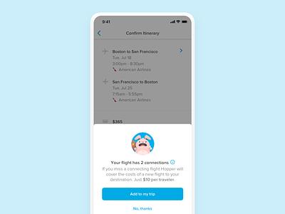 Missed Connection Plan travel app product design ios design app ui ux