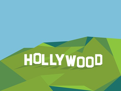 Hollywood Sign By Henrique J Tramontina