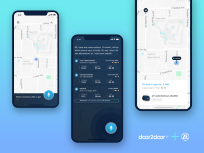 Voice recognition rideshare