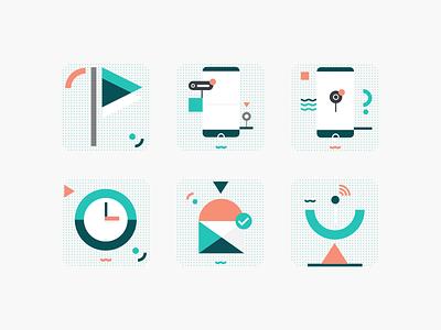 dialog illustrations flat illustration maps public transportation iphone x rideshare mobility android ios app ux ui