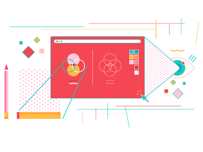 visual design product graphic design branding illustrator design colors ui vector flat illustration