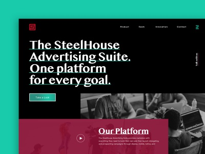 Sh 4.0 user inteface website interface web design
