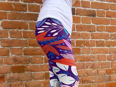 Designer Print Jeggings Mockup branding leggings clothes psd 2020 2021 best illustration design mockup jeggings print designer