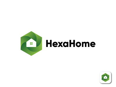 HexaHome | Modern Home Logo And Branding | Logo folio constriction building property real estate agent trendy simple and unique colorful logo real estate rent house home hexagon logo brand identity branding logo and branding logo design gradient logo creative logo minimal logo minimalist logo flat logo modern logo