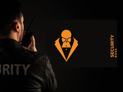 security boss logo safety design illustration graphics inspiration vactor security brand identity branding logo and branding logo design gradient logo creative logo minimal logo minimalist logo flat logo modern logo