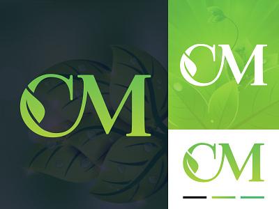 CM LEAF c leaf logo mc logo luxury logo flat logo leaf logo brand logo logo and brandign logo illustration logo creative logo roof logo abastact logo modern logo minimal logo minimalist logo logo design