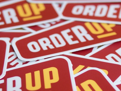 OrderUp Stickers