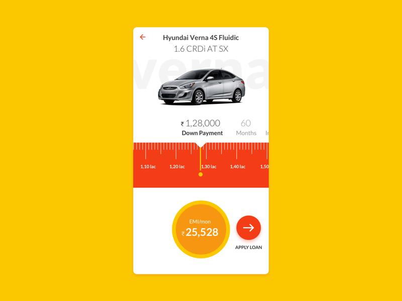 Car Loan Calculator App >> Daily Ui 04 Loan Calculator By J E E T On Dribbble