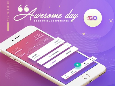 Awesome Day - GO flight app