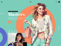 MV Fashion brand - UI/UX