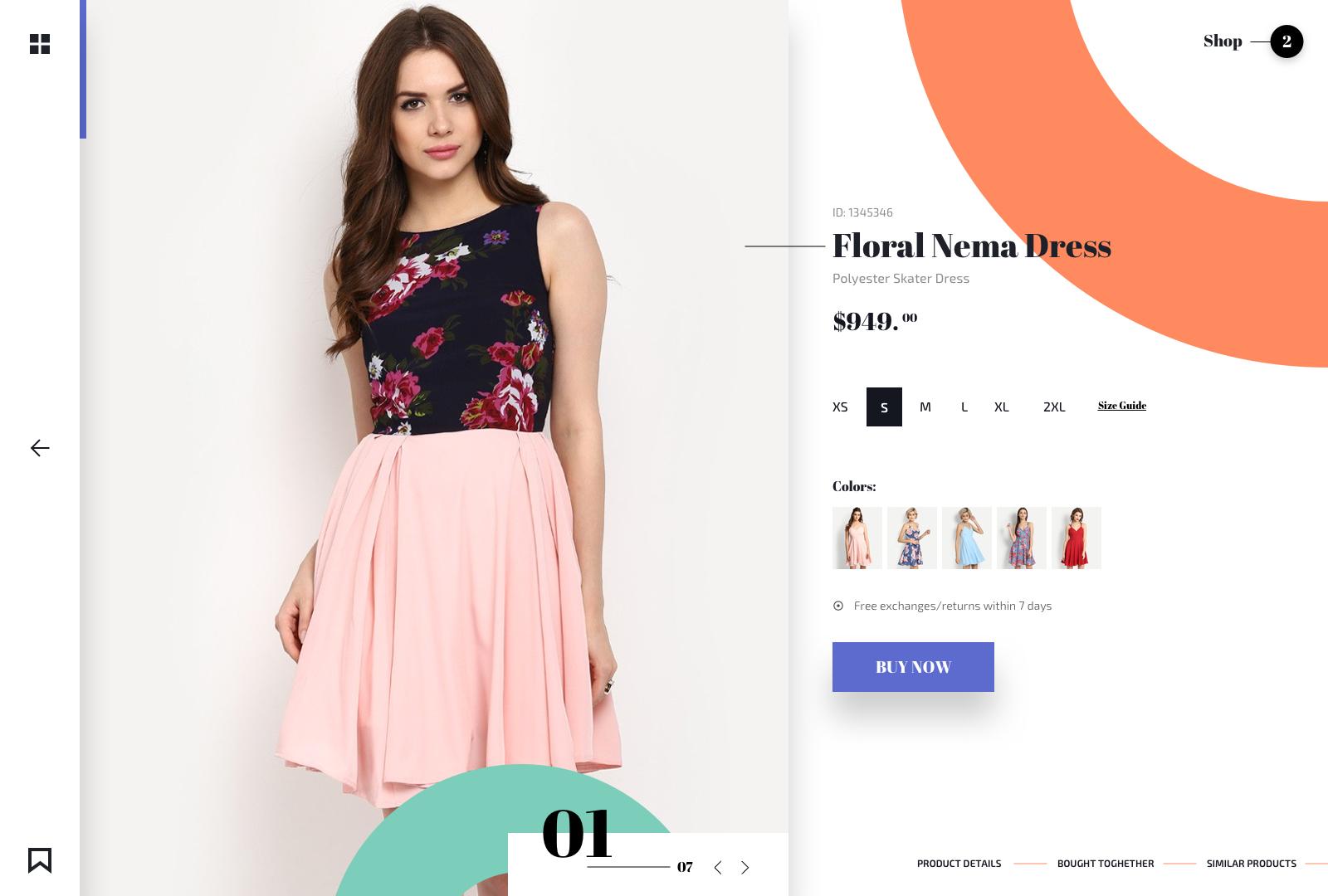 Women product detail