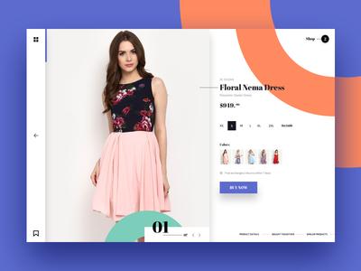MV fashion - Product Detail page