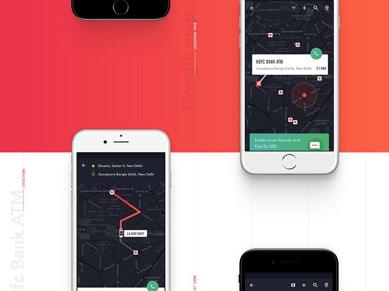 Locator screen by Jeet for CarDekho on Dribbble