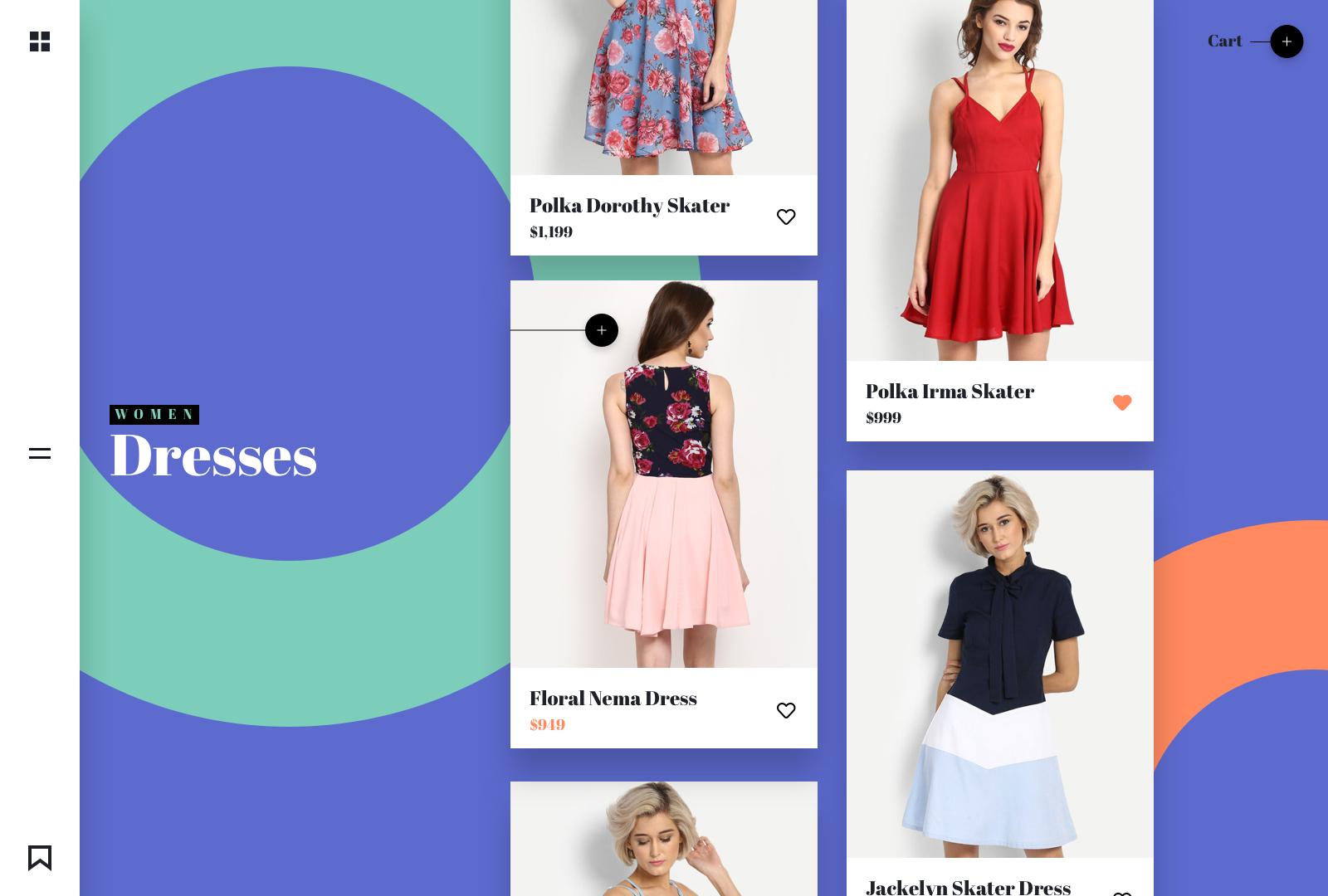 Women dresses list