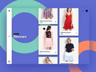 MV — Listing Page website shop mobile interaction ecommerce app product material ux ui store fashion