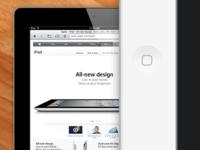 iPad 2 front render