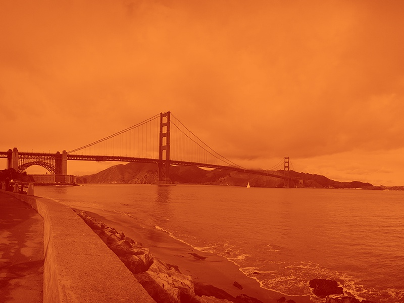 Golden Gate Bridge photo photography san francisco iphone orange
