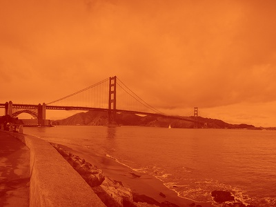 Golden Gate Bridge photo photography san francisco iphone orange
